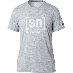 super.natural Essential I.D. - T-shirt manches courtes Homme - gris